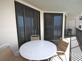 Orange Beach condo photo - Seating for 4 on balcony