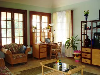 Ambergris Caye house photo - Living Room Area