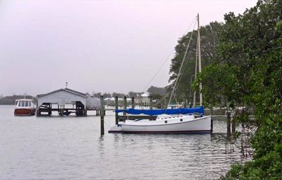Longboat Key cottage rental - The Boat House in the Village dates to 1950.