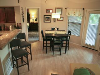 Scottsdale condo photo - Dining area with counter height table and 2 pub height chairs. Access to terrace