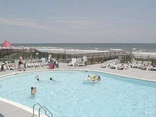 Ocean Isle Beach condo photo - Ocean front community pool