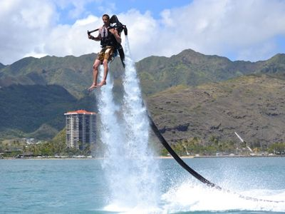 Just one of the many activities available in Hawaii Kai.