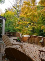 Canaan Valley cabin photo - A Relaxing Place to watch the colors change