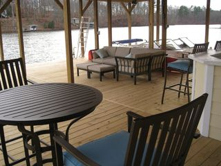 Lake Gaston house photo - Relax and enjoy one of lake's nicest boat houses
