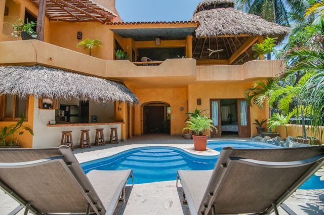 Luxury villa in downtown sayulita vrbo for Villas sayulita