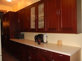 Eckington townhome photo - Kitchen, north wall, looking toward dining room entrance.