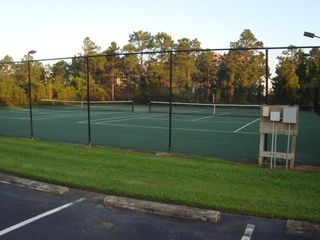 Orange Beach townhome photo - Community Tennis Courts!