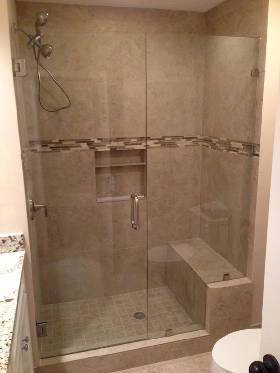 New Walk-In Master Bath Shower