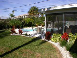 Clearwater Beach house photo - Fenced backyard, great for kids to play