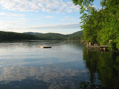 Fort Ann cabin rental - .Seasonal, rustic camp directly on Lake Hadlock with its own dock.