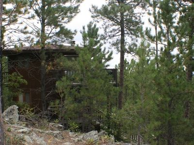 Hill City cabin rental - Pine Top Hideaway