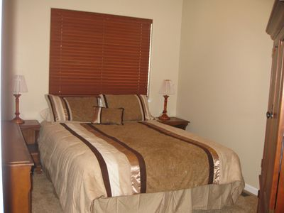North Upper Truckee house rental - Upstairs queen bedroom