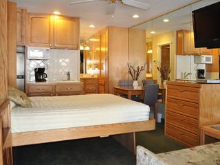 Heavenly Valley studio photo - Studio Unit with Murphy Bed Down at the Stardust Tahoe
