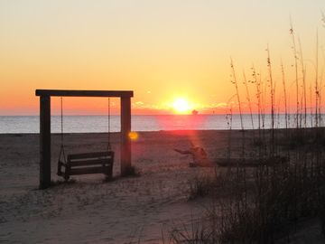 Sunrise at 3rd St. & Butler at your location on Tybee Island