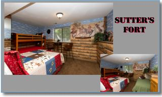 Castro Valley estate photo - Sutter's Fort, Sleeps 5 1 queen, 3 twin,