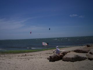 Chatham house photo - Kite Surfing