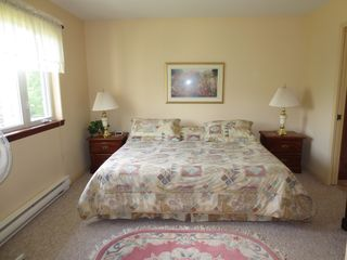 Mont Tremblant townhome photo - The Master Bedroom, with its Own TV (not shown)