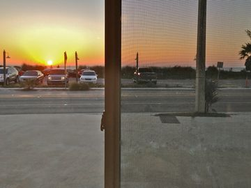 Your window faces west with views of the Gulf of Mexico sunsets...