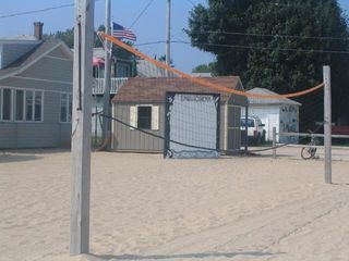 Old Lyme house photo - Volley Ball On the Beach