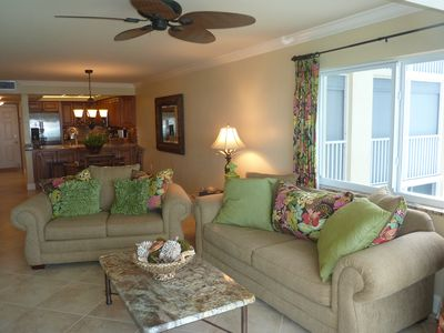 The condo is professionally decorated and has all new furniture throughout!