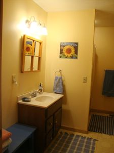 Bridgewater Corners cabin rental - Bathroom with shower