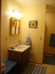 Bridgewater Corners cabin photo - Bathroom with shower