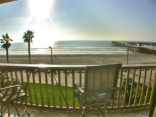 Pacific Beach condo photo - ONE OF MANY VIEWS FROM THREE DECKS OF CONDO