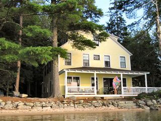 Wolfeboro cottage photo - The house from the water