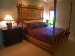 Poipu house photo - Second floor master suite, king bed