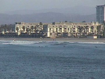 Oceanside condo rental - This is the view of our complex from the Oceanside