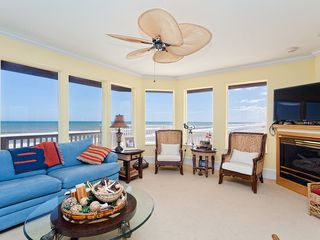 Summer Haven house photo - Enjoy ocean views and our large HDTV.