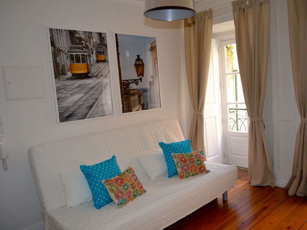 Holiday apartment, 42 square meters , Alfama, Portugal