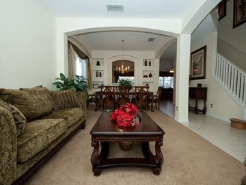 Lounge and formal dining
