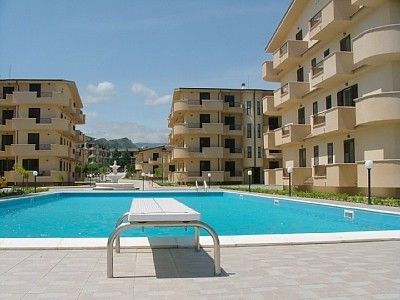 Beautiful NEW apartment with pool close to the village, sea only 5 minutes away,