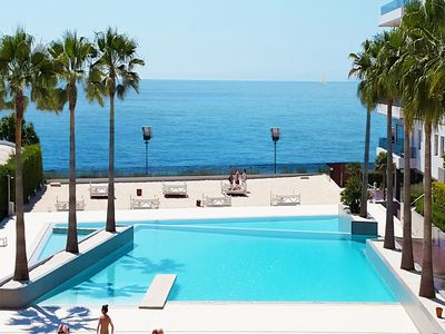 LUXURY APT IN THE BEST COMPLEX: IBIZA ROYAL BEACH: SEA VIEW, POOL, PRIVATE BEACH