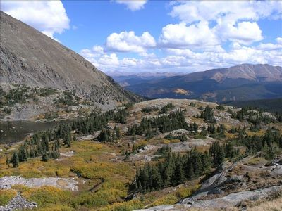 Hiking around and above Breckenridge offers incredible views!