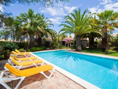 Vale de Parra villa rental - Beautiful secluded pool and garden area