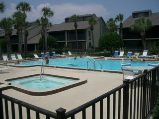 St. Augustine Beach condo photo - Additional Pool and Hot Tub for Guests