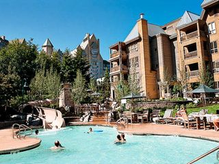 Whistler house photo - Main Pool with Waterslide at the Club Intrawest Whistler Resort