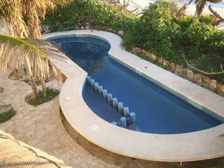Tulum villa photo - Private pool with 'tot' area for kids