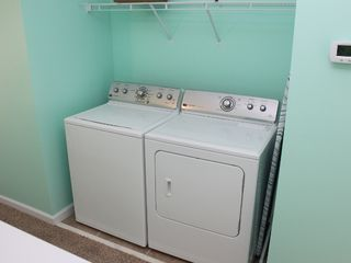 Thomas Drive Area house photo - FULL SIZE WASHER AND DRYER