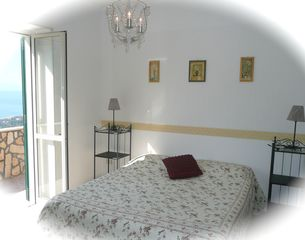 Castellabate apartment photo - Albicocco. Step out of your bedrooms to breath-taking views