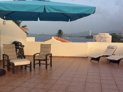 Luquillo apartment rental - Rooftop Terrace Beach View