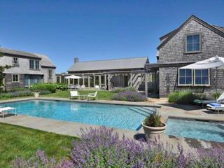 Katama house photo - Beach Plum Meadows Contemporary With Guest House & Pool