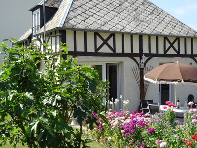 Normandy-style Beamed Cottage, Ideal For Couples Or Small Families