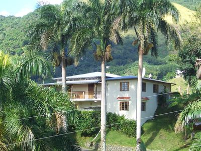 Jayuya lodge rental - House Rear