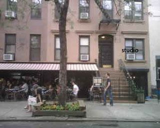 East Village studio rental - Cafe Orlin