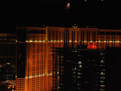 Las Vegas condo rental - View from Penthouse