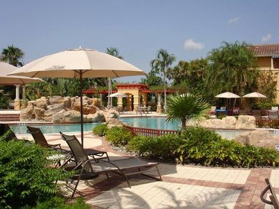 Fabulous Renaissance Center Club with lagoon style resort pool and 4 lane lap