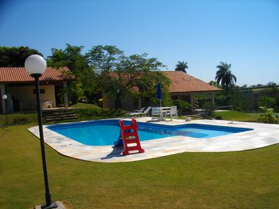 Ranch in Cond. High Standard, Sec. 24 hours, Swimming Pool. Football field, orchard, etc ...